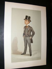 Vanity Fair Print 1897 Samuel Crockett, Literary